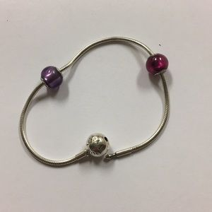 Authentic Essence Bracelet with glass beads